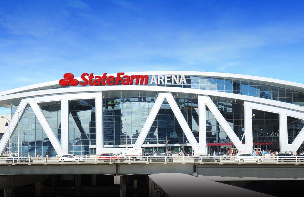 La State Farm Arena, salle des Atlanta Hawks en NBA