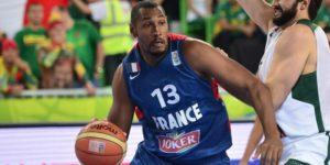 Boris Diaw sous le maillot de l'équipe de France