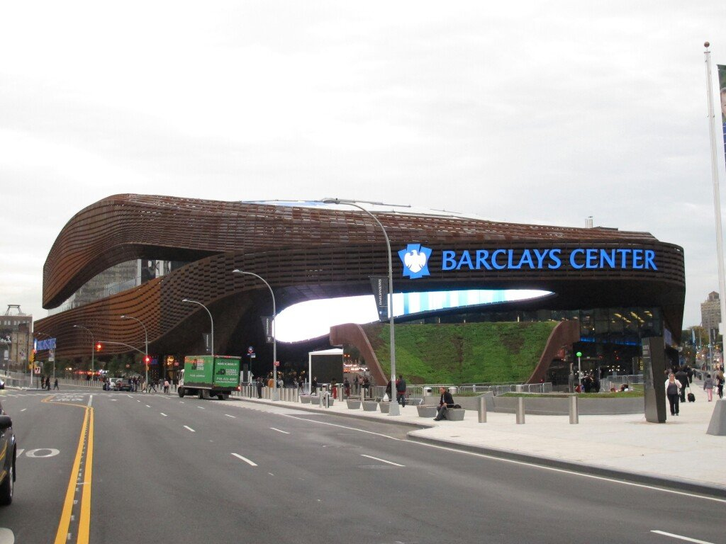 Le Barclays Center, salles des Brooklyn Nets en NBA
