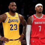 NBA – LeBron James évoque le cas Carmelo Anthony aux Lakers