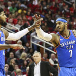 NBA – Paul George défend Carmelo Anthony