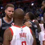NBA – Accrochage entre Chris Paul et Blake Griffin