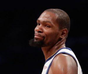 Kevin Durant ne peut que sourire quand Pippen le voit comme potentiel GOAT