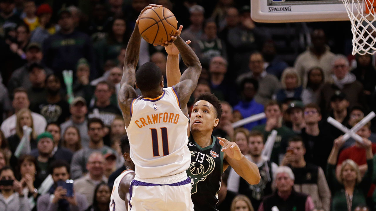 Jamal Crawford pour le game winner des Suns