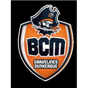 Logo du BCM Gravlines Dunkerque en Jeep Elite