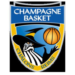 Logo du Champagne Basket Chalon Reims en Jeep Elite