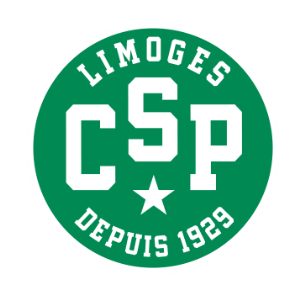 Logo du CSP Limoges en Jeep Elite