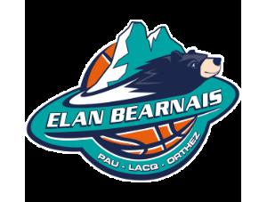 Logo de l'Elan Bearnais Pau Lacq Orthez en Jeep Elite