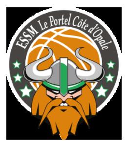 Logo de l'ESSM Le Portel Cote d'Opale en Jeep Elite