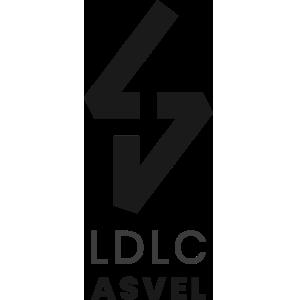 Logo du LDLC ASVEL en Jeep Elite