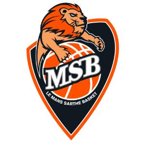 Logo du MSB Le Mans Sarthe Basket en Jeep Elite