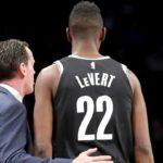 NBA – La réaction de Kenny Atkinson à la blessure de Caris LeVert