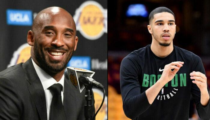 Kobe Bryant et Jayson Tatum