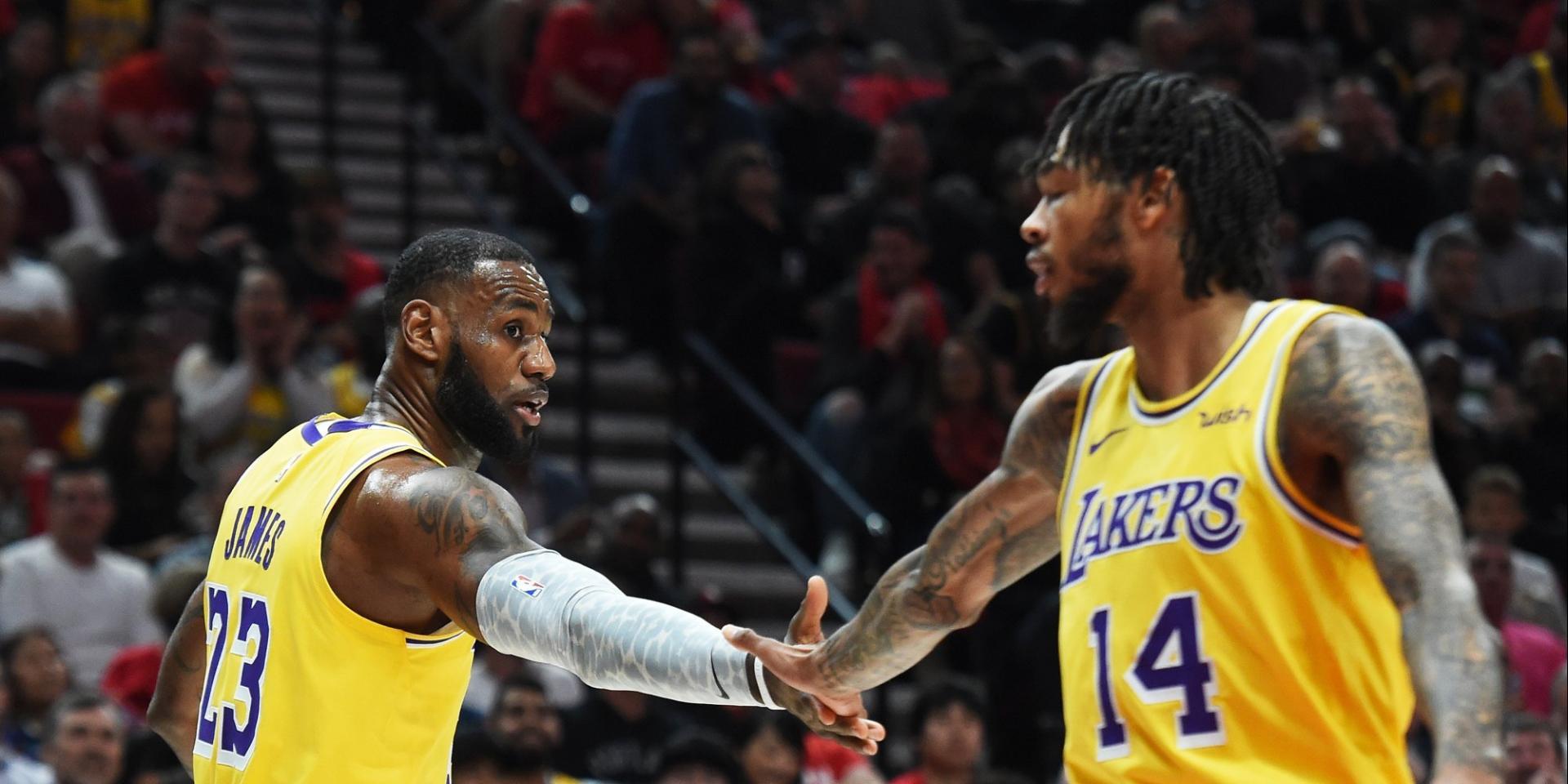 Selon la jeune star des Lakers, la franchise peut encore progresser même en n'incluant pas LeBron James