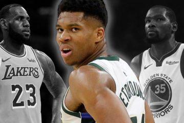 Le Greek Freak ne veut pas être comparé à LeBron James et Kevin Durant, il préfère continuer à travailler pour atteindre leur niveau