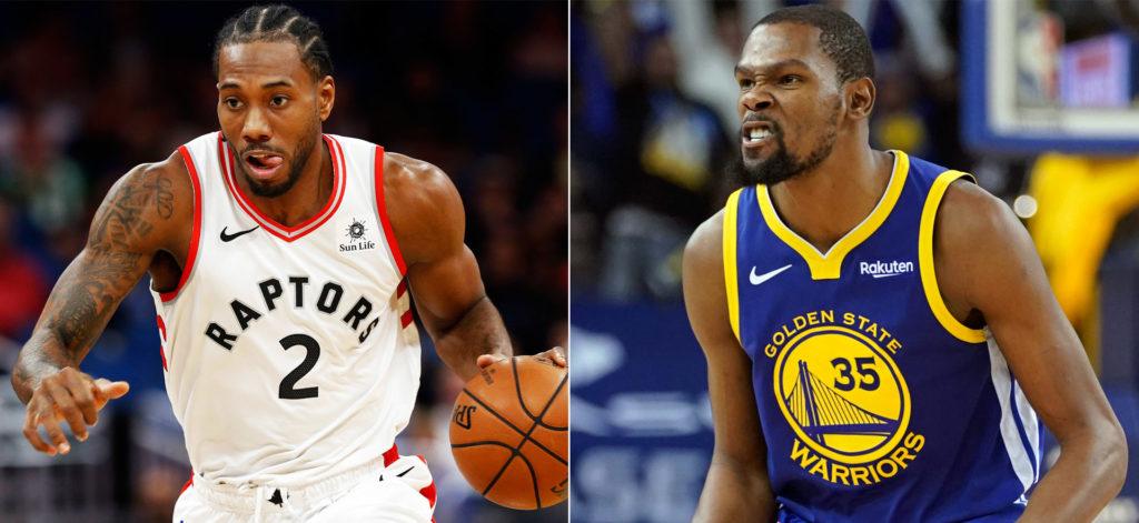 Raptors vs Warriors s'annonce commele plus gros choc de cette nuit. Qui de Kawhi Leonard ou de Kevin Durant ressortira grand vainqueur ?