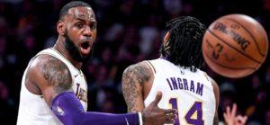 NBA – Programme de la nuit (07/11) : Les Lakers doivent sortir les crocs face aux Wolves