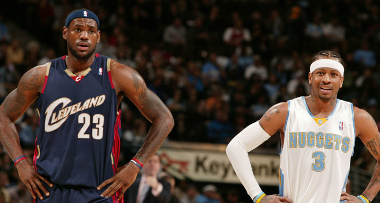 En inscrivant 51 points hier soir face au Heat, LeBron James a dépassé Allen Iverson dans l'histoire des joueurs ayant inscrits plusieurs matchs à plus de 50 points.