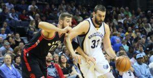 NBA – Programme de la nuit (27/11) : Raptors @ Grizzlies, attention aux griffes