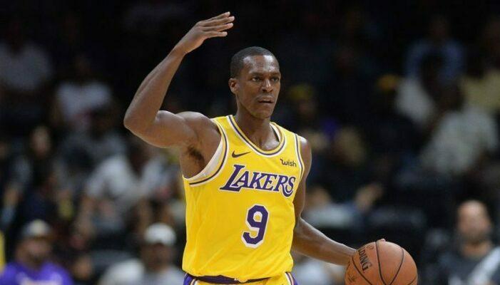 Rajon Rondo sous le maillot des Lakers