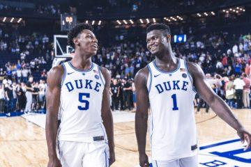 RJ Barrett et Zion Williamson de Duke