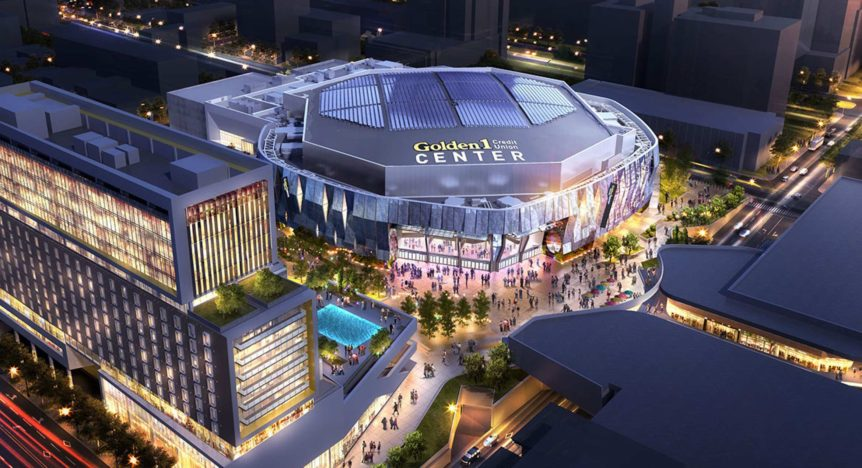 Le Golden 1 Center, salle des Sacramento Kings en NBA