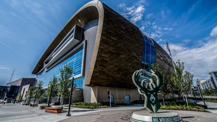 Le Fiserv Forum, salle des Milwaukee Bucks en NBA