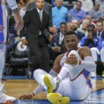 NBA – Russell Westbrook sérieusement blessé à la cheville !