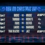 NBA – La nouvelle pub géniale pour les affiches de Noël