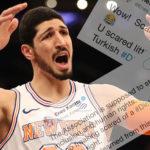 NBA – Enes Kanter s'en prend à la ligue… qui s'excuse
