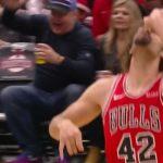 NBA – La drôle de célébration de Robin Lopez après son trois points