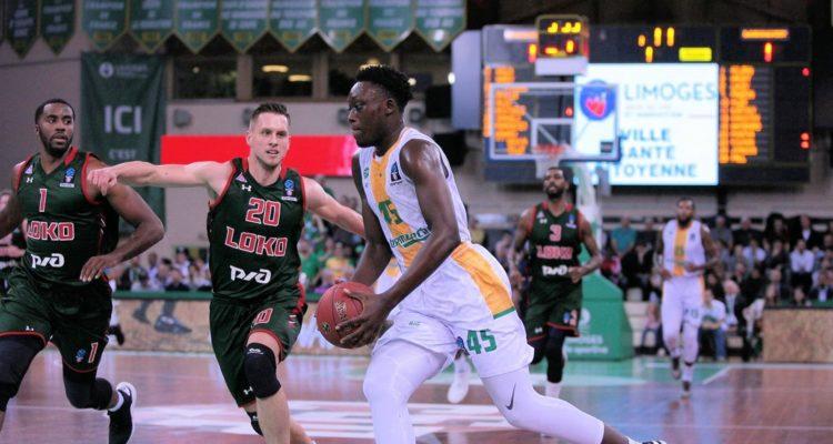 Sekou Doumbouya sous le maillot de Limoges