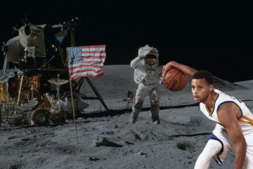 Stephen Curry Warriors lune