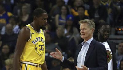 NBA – Kevin Durant craque et recadre salement… Steve Kerr !