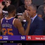 NBA – Le ton monte entre le coach et Mikal Bridges à Phoenix