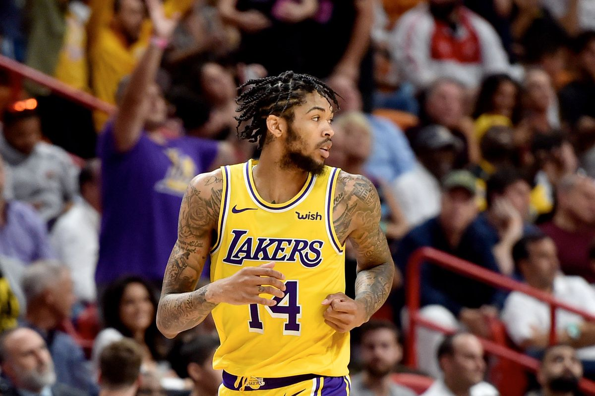 Brandon Ingram sous le maillot des lakers