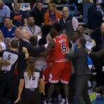NBA – Grosse altercation entre les Bulls et le Thunder !