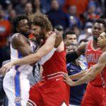 NBA – Les sanctions pour la bagarre Bulls/Thunder sont connues !
