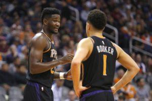 NBA – Embrouille entre Devin Booker et Deandre Ayton