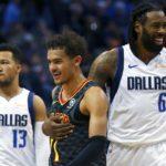 NBA – DeAndre Jordan et Trae Young pour la plus drôle des fautes techniques