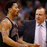 NBA – La surprenante anecdote de Derrick Rose sur Tom Thibodeau