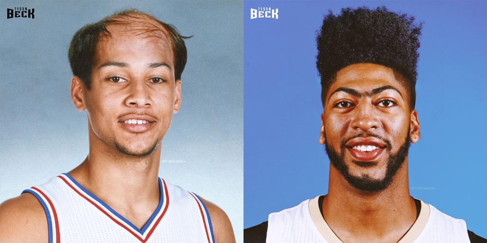 NBA \u2013 Les joueurs actuels avec des coupes rétros (Part. 2)