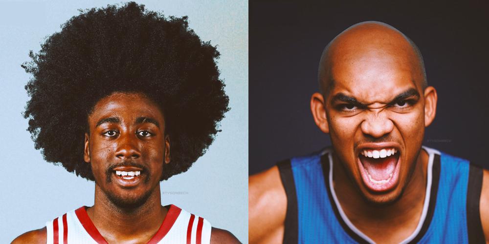 NBA \u2013 Les joueurs actuels avec des coupes rétros (Part. 1)