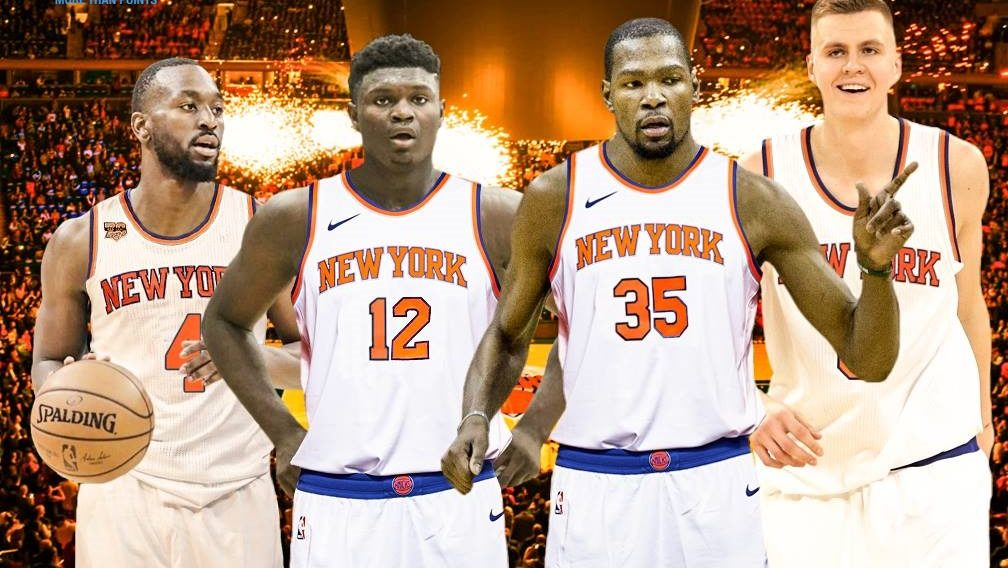 Walker Durant Zion Williamson Porzingis