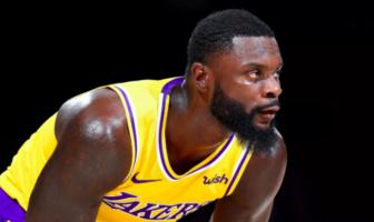 Lance Stephenson sous le maillot des Lakers