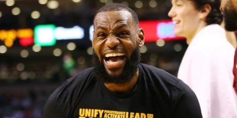 LeBron James Lakers 2019