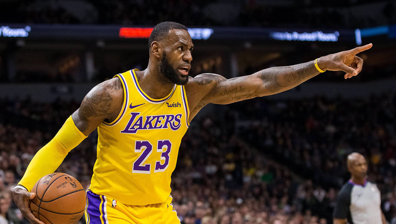 LeBron James aux Lakers