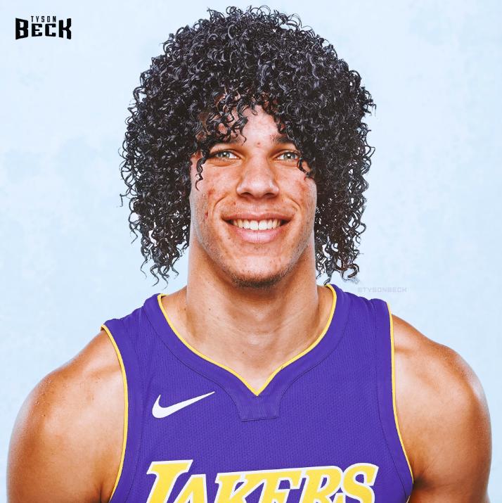 Lonzo Ball coupe de cheveux rétro