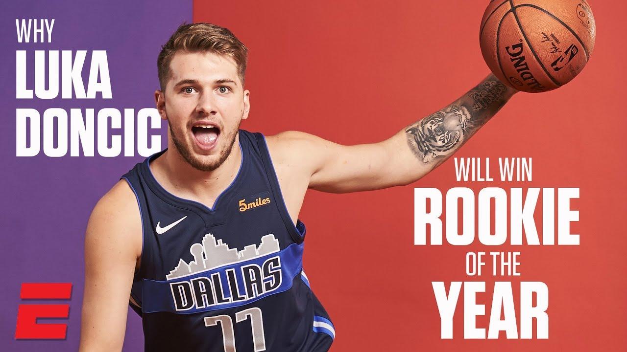 Luka Doncic rookie de l'année