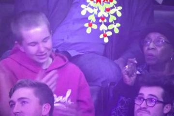 Durant la rencontre Clippers vs Blazers, la séance kiss-cam nous a offert le moment le plus hilarant de ce début de saison